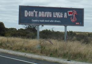 dont-drive-like-a-wanker-billboard