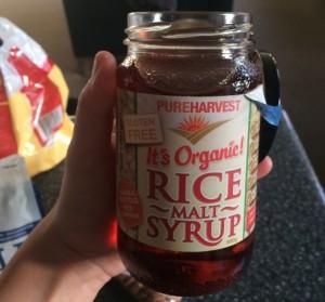Rýžový syrup - chutná jako med